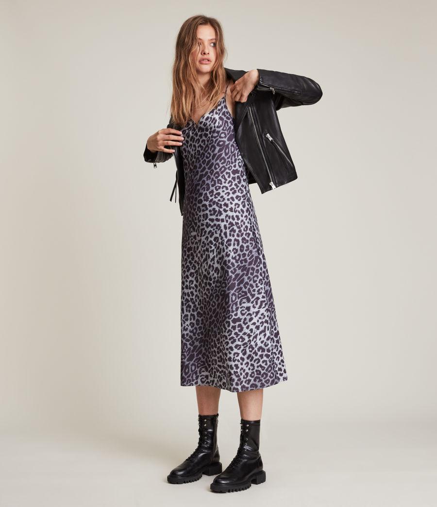 Womens Tierny Leppo Slip Dress (pewter_grey) - Image 4