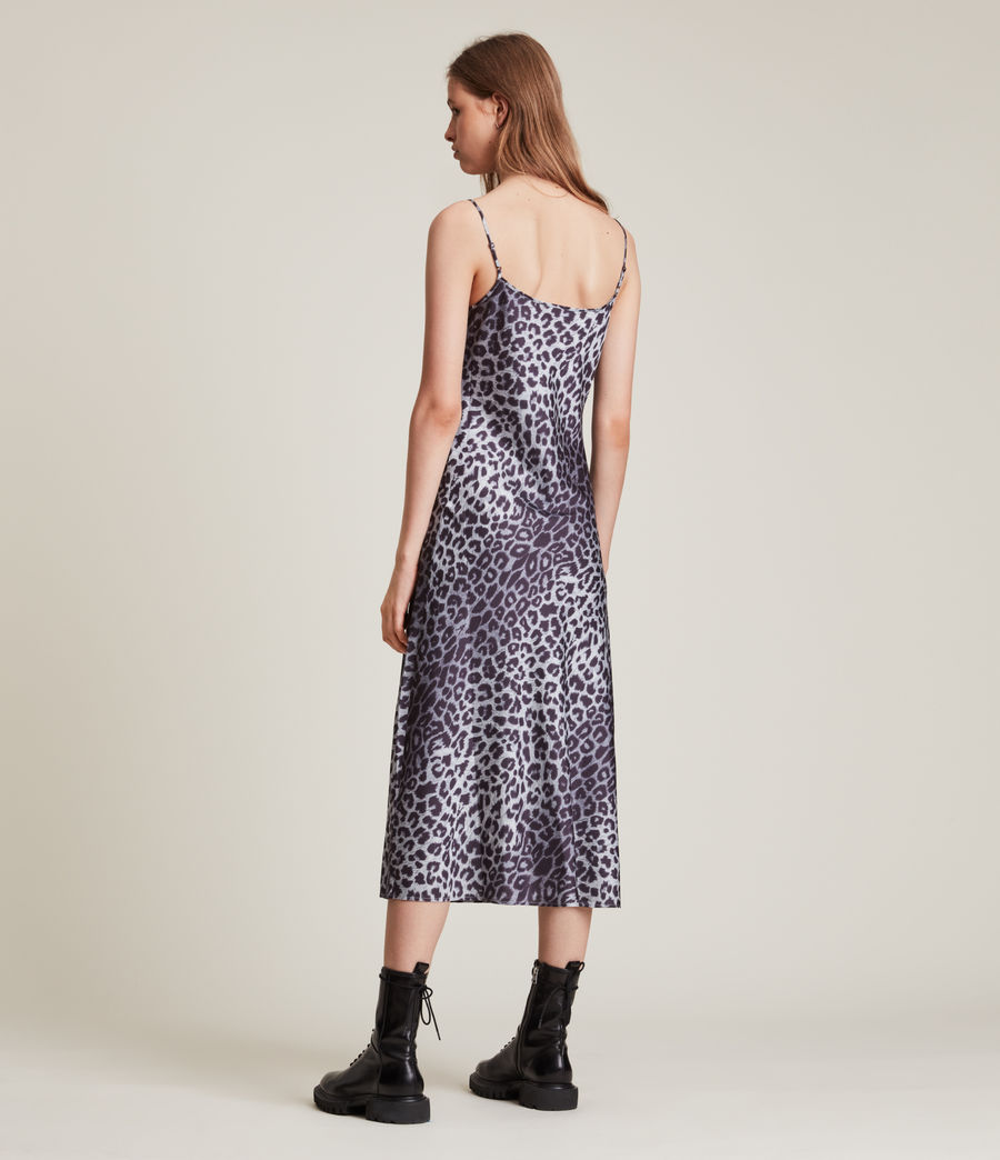 Womens Tierny Leppo Slip Dress (pewter_grey) - Image 6