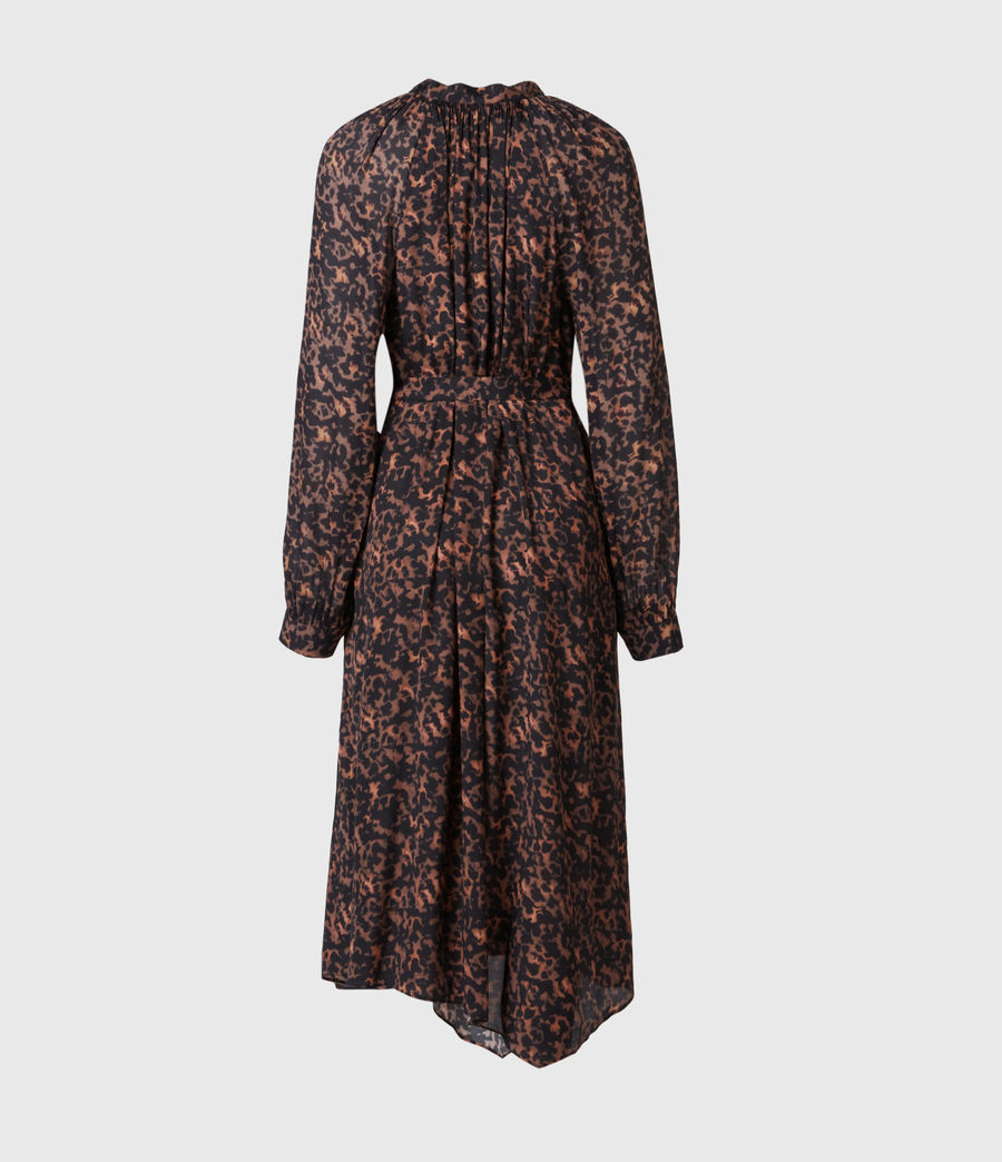 Women's Nina Torto Dress (brown) - Image 3