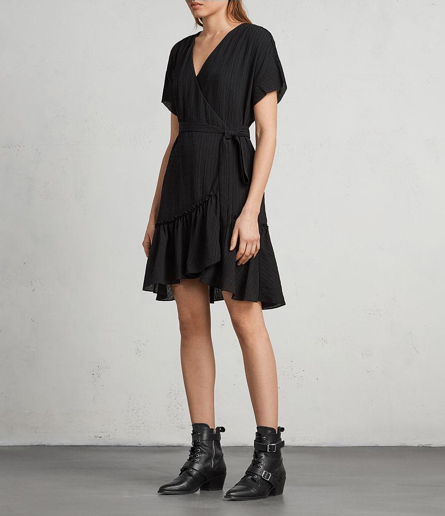 Mujer Vestido Rene (black) - Image 4