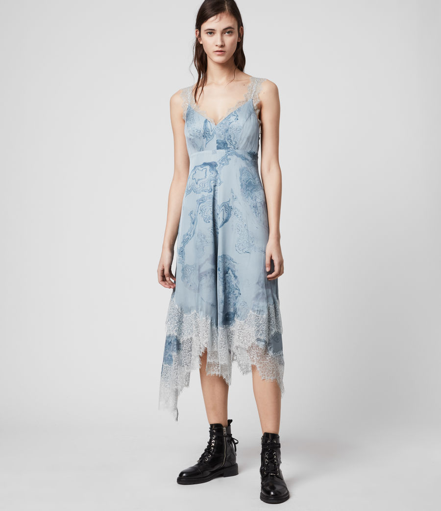 Womens Skylar Hatsukoi Dress (powder_blue) - Image 1