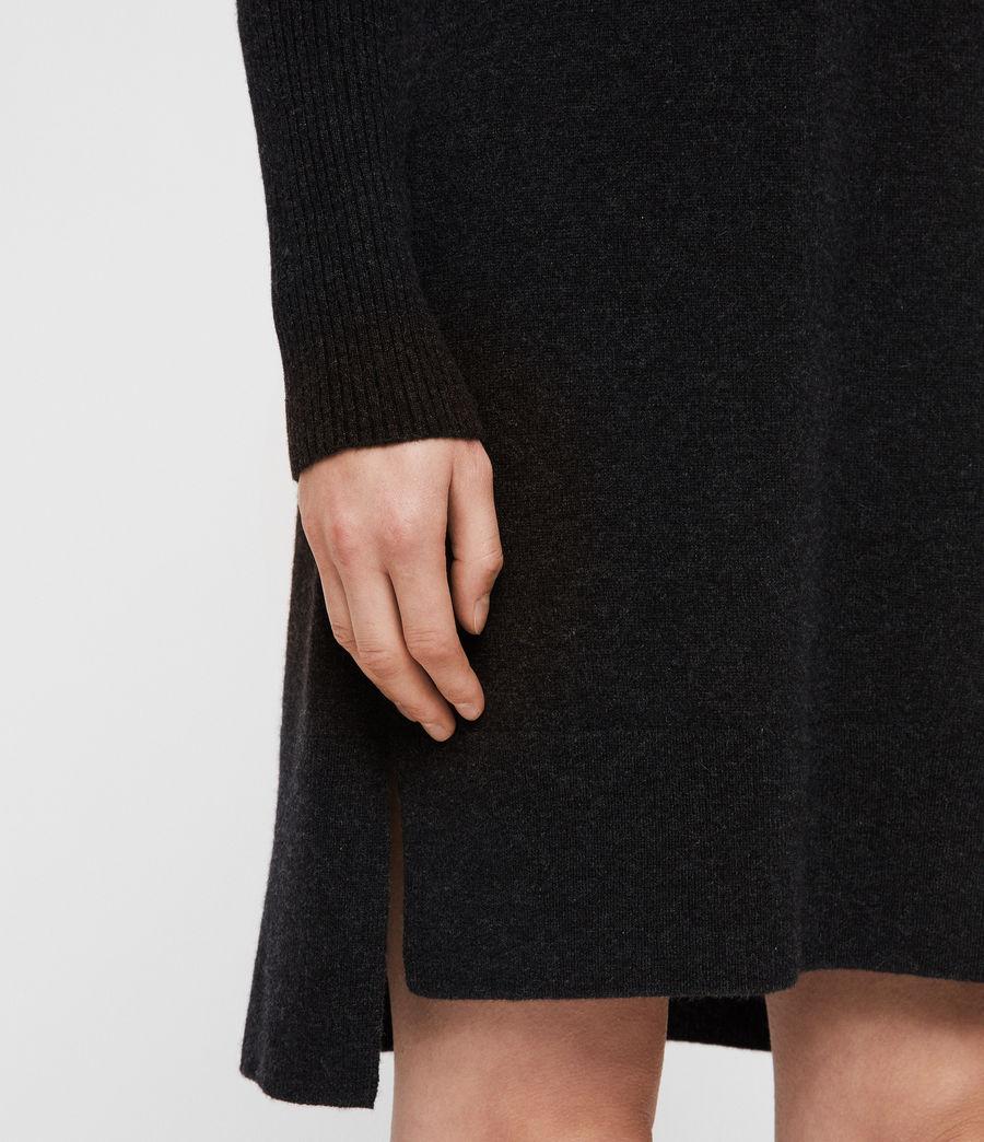 Womens Tiff Dress (charcoal_grey_marl) - Image 5