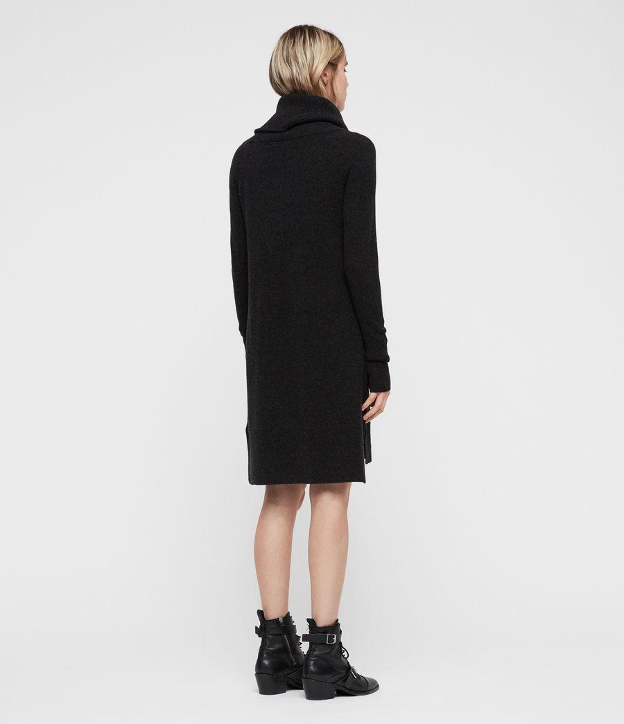 Womens Tiff Dress (charcoal_grey_marl) - Image 6