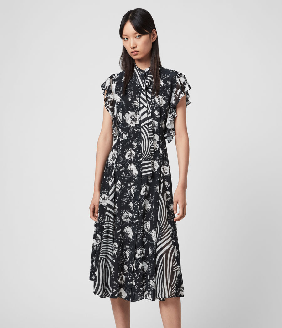 Women's Kiti Amapolo Dress (black) - Image 1