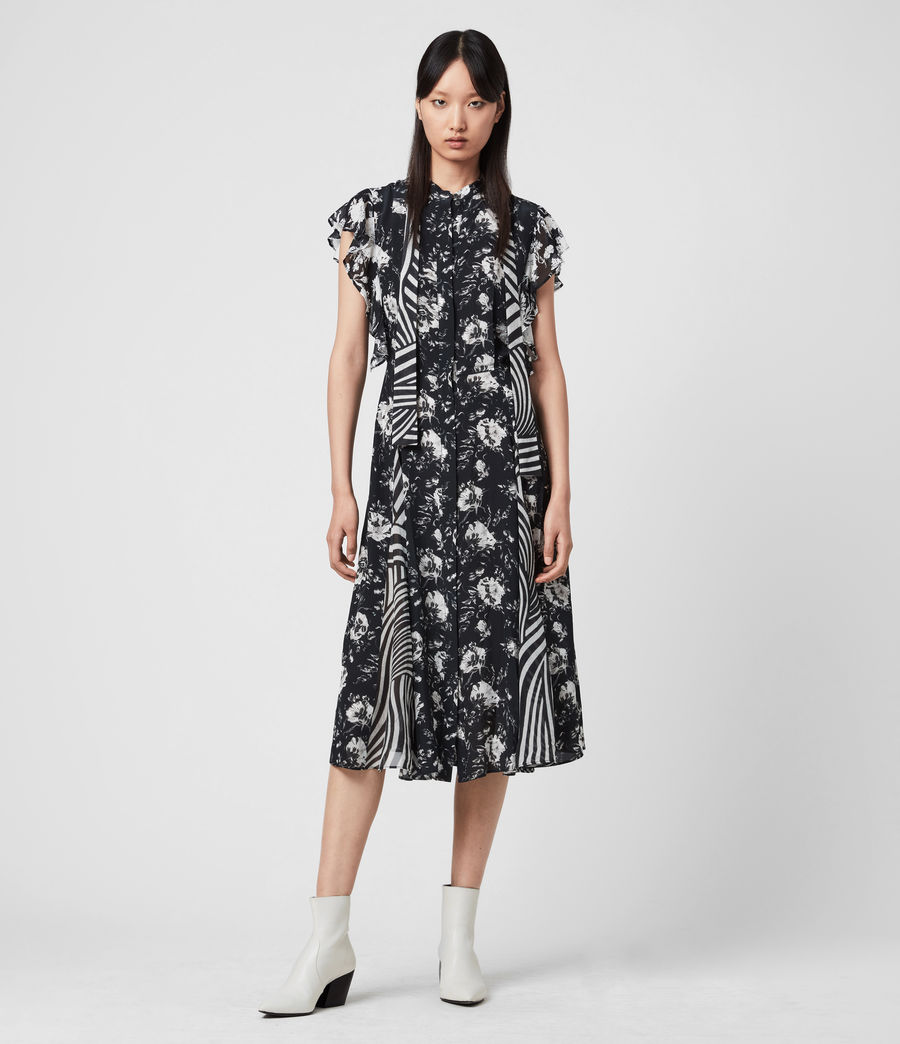 Women's Kiti Amapolo Dress (black) - Image 3