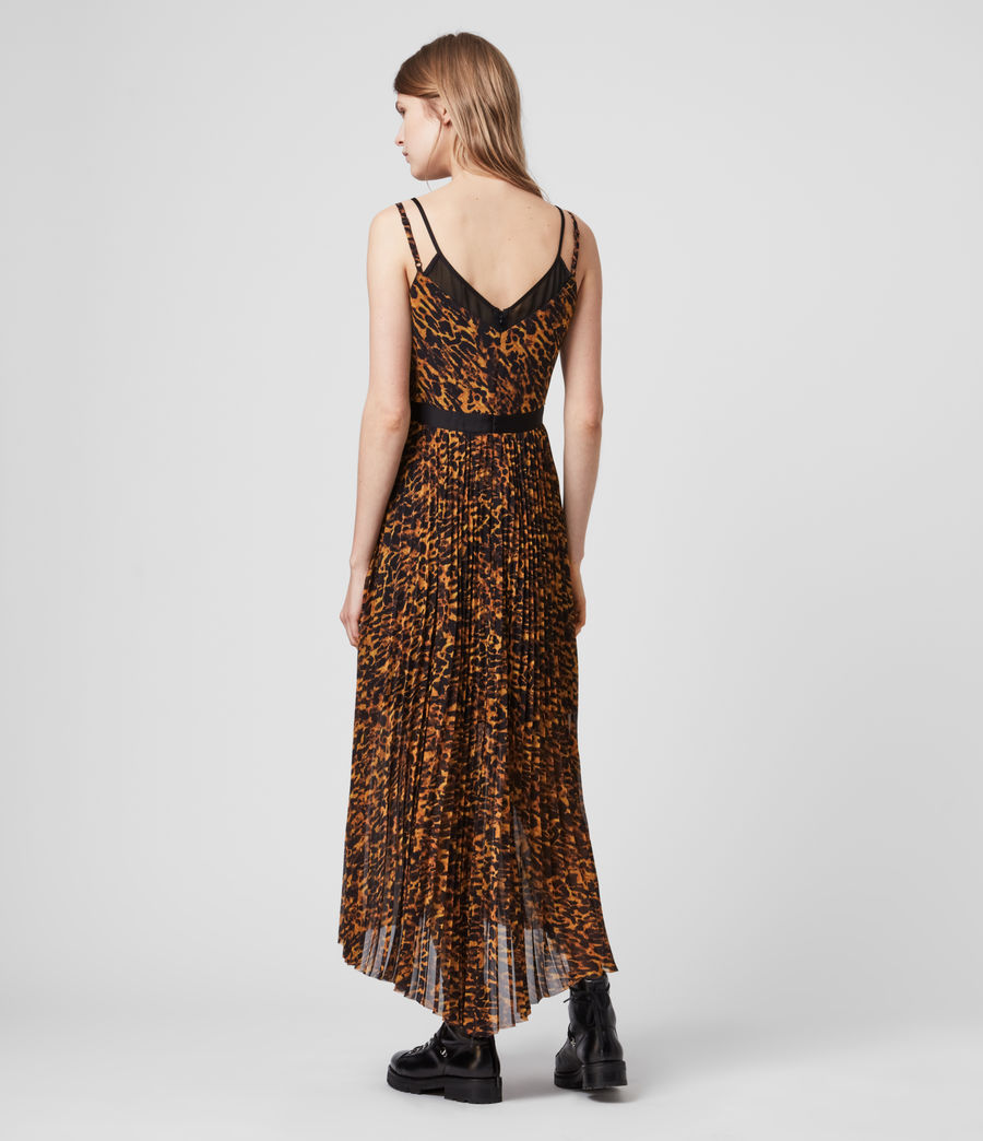 Womens Cora Ambient Dress (brown) - Image 6