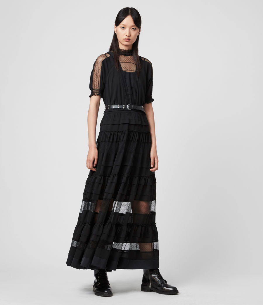 Women's Renia Dress (black) - Image 1
