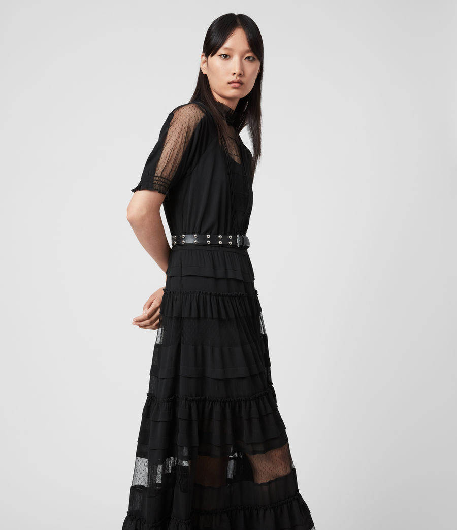 Women's Renia Dress (black) - Image 3
