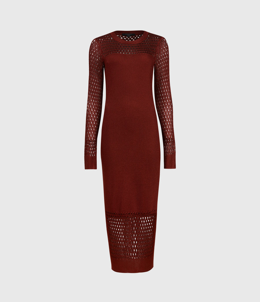 Mujer Kendy Dress (orange) - Image 2