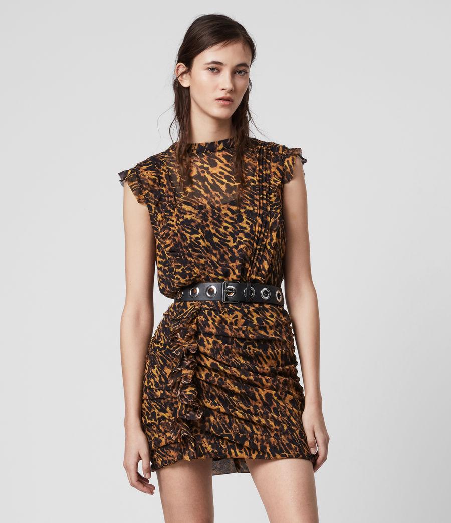 Women's Hali Ambient Dress (brown) - Image 1