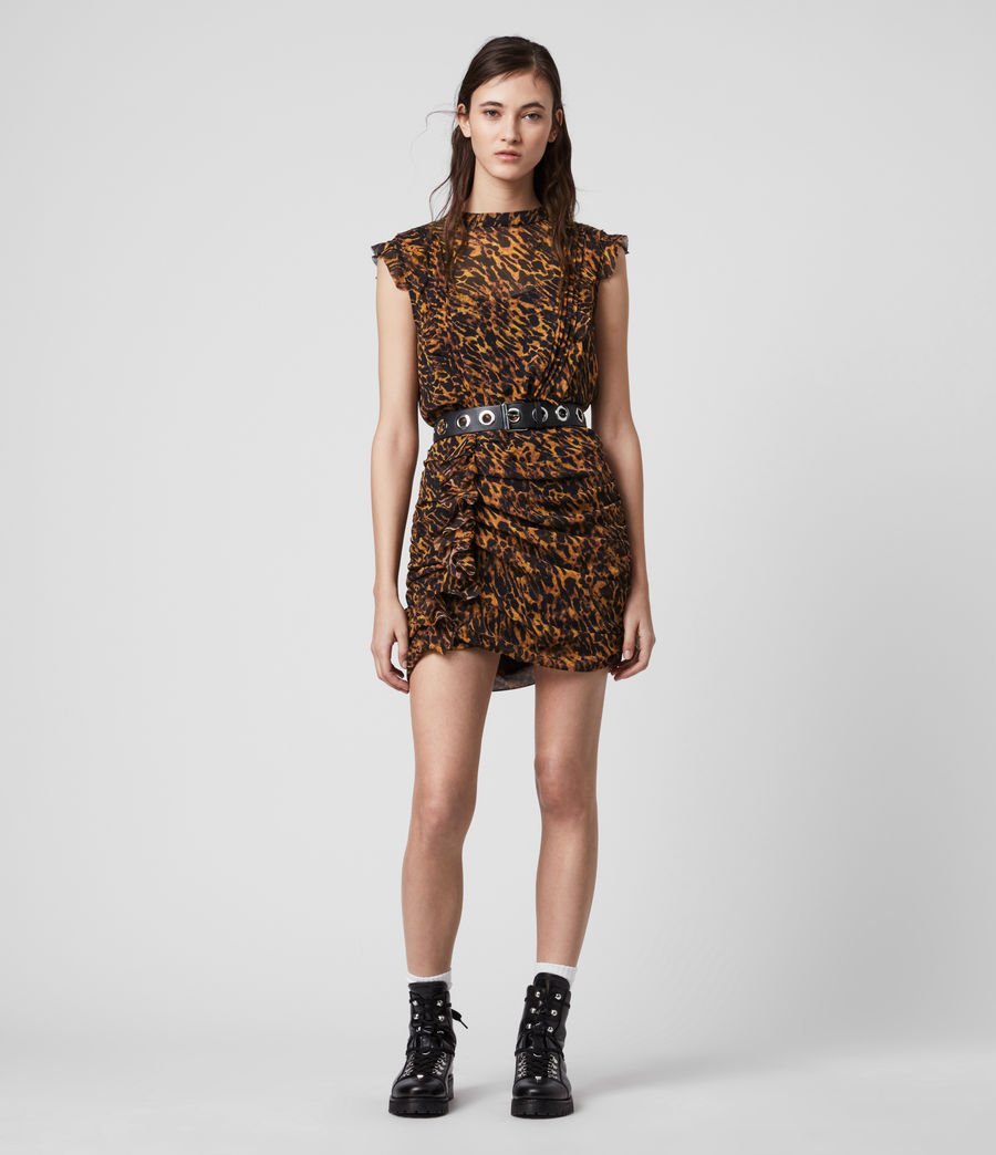 Women's Hali Ambient Dress (brown) - Image 3