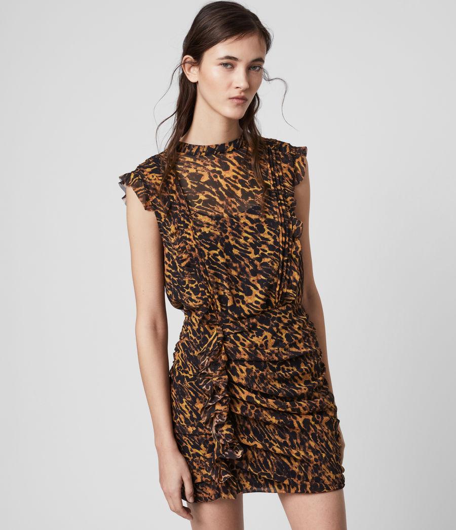 Women's Hali Ambient Dress (brown) - Image 4