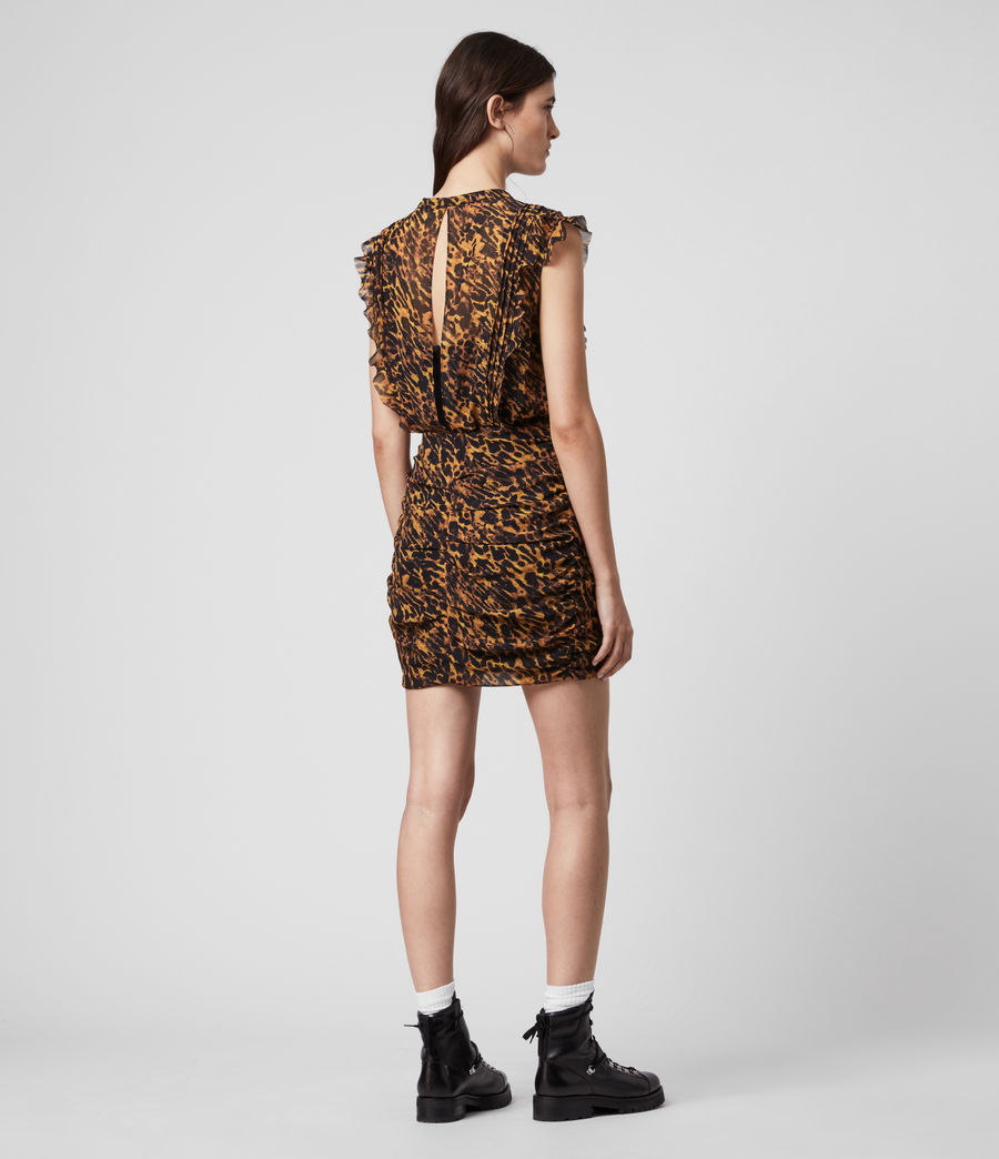 Women's Hali Ambient Dress (brown) - Image 5