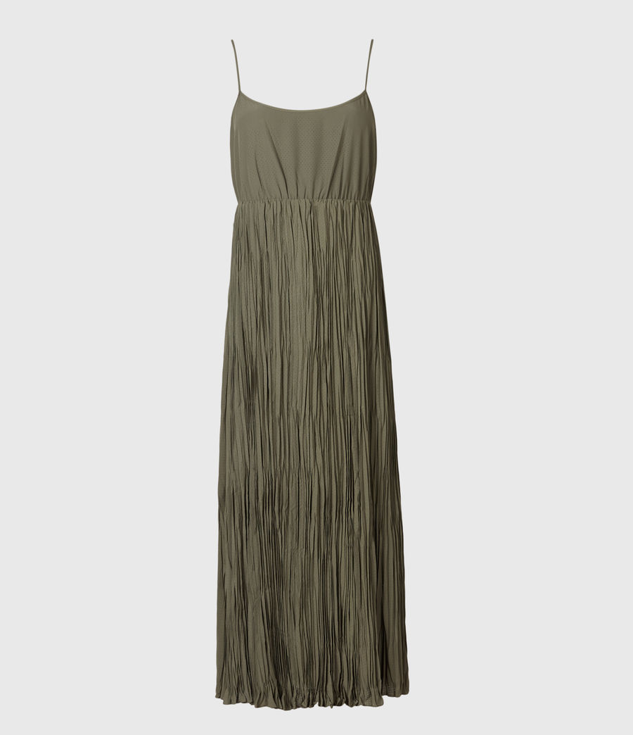 Mujer Laze 2-In-1 Dress (utility_green) - Image 3