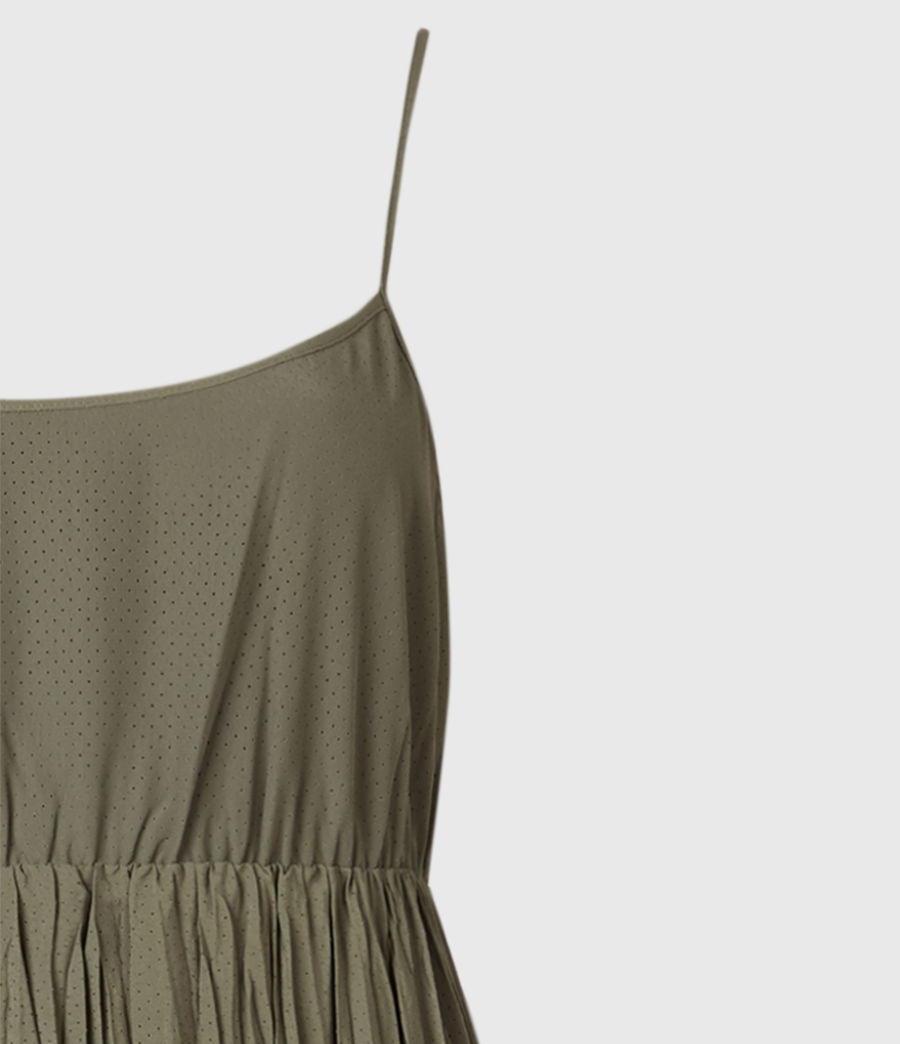 Mujer Laze 2-In-1 Dress (utility_green) - Image 5