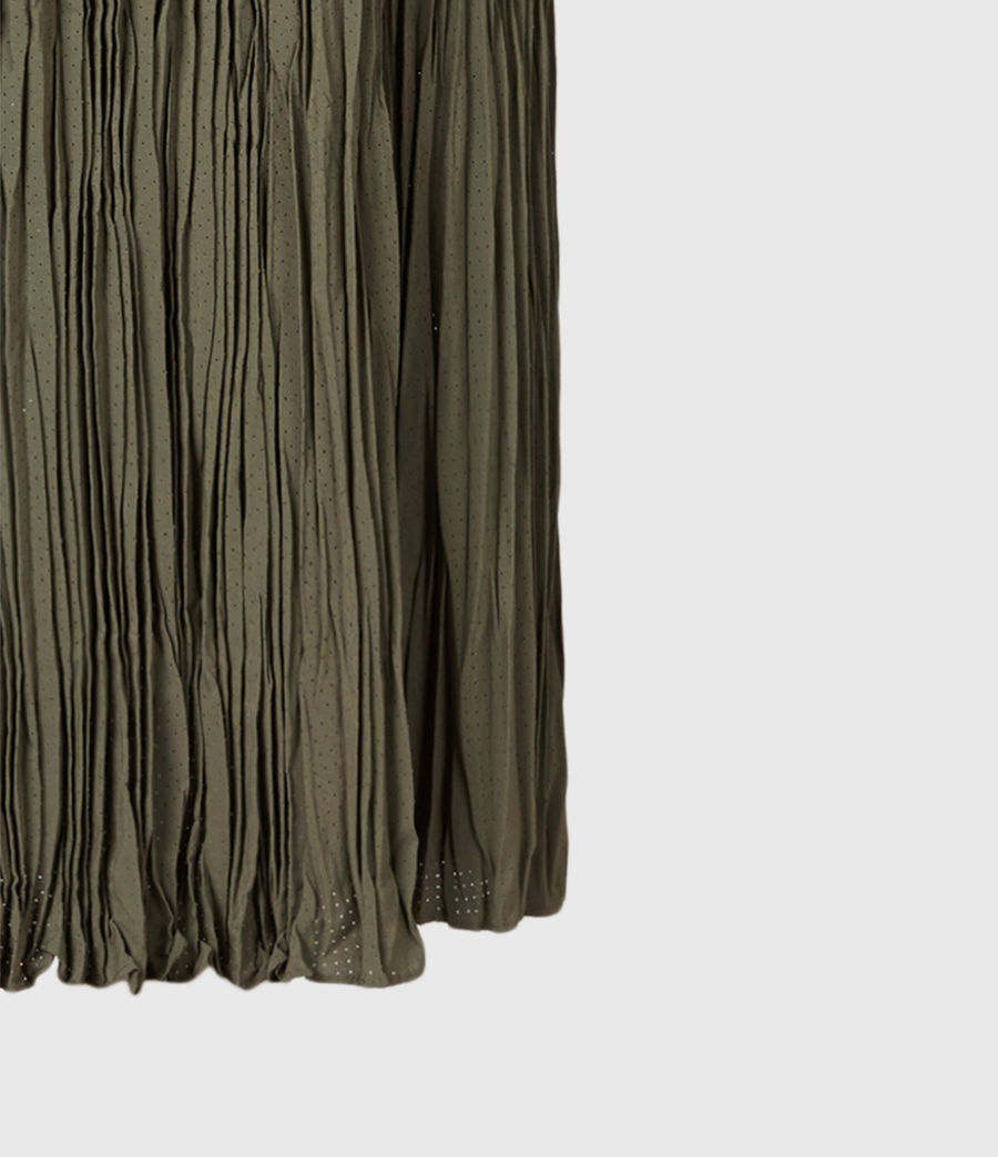 Mujer Laze 2-In-1 Dress (utility_green) - Image 6