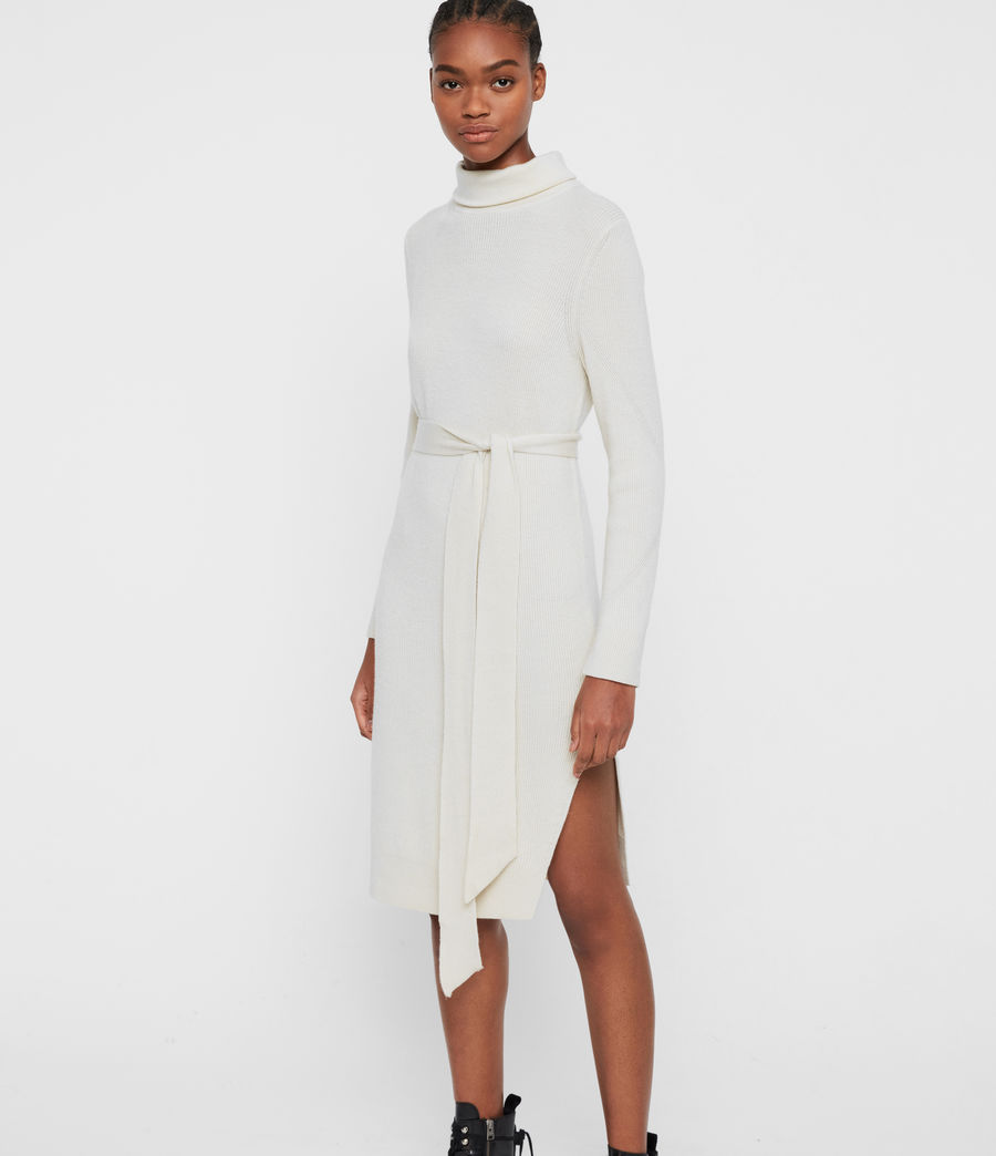 Damen Roza Jumper Kleid (chalk_white) - Image 3