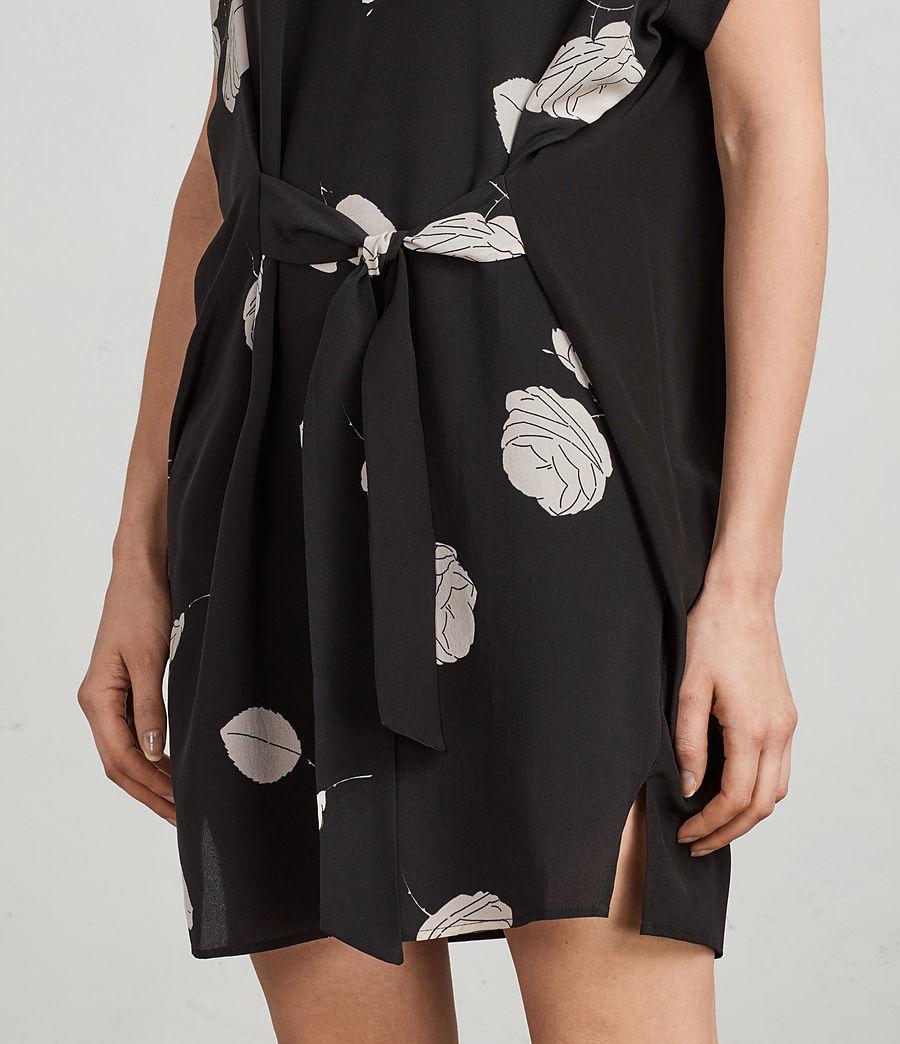Womens Sonny Rodin Silk Dress (black) - Image 5