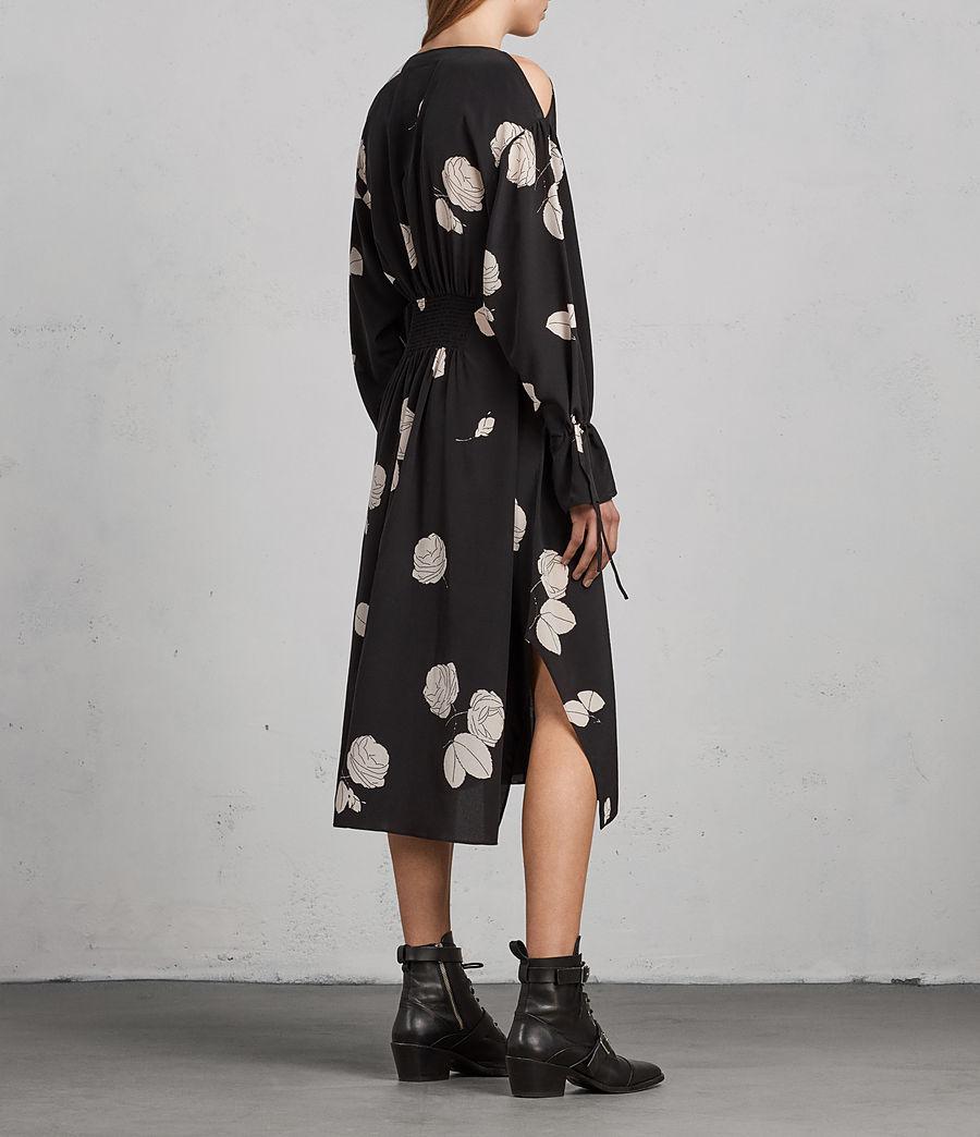 Damen Lavete Rodin Seidenkleid (black) - Image 5