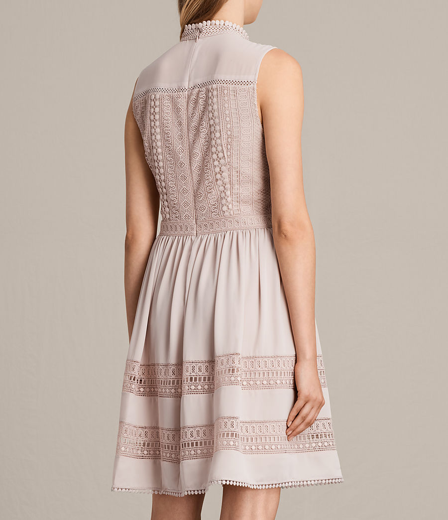 Womens Rowy Lace Dress (nude_pink) - Image 7