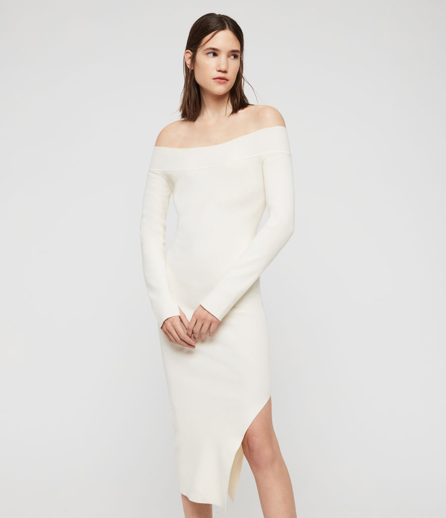 Women's Alyssa Dress (chalk_white) - Image 1