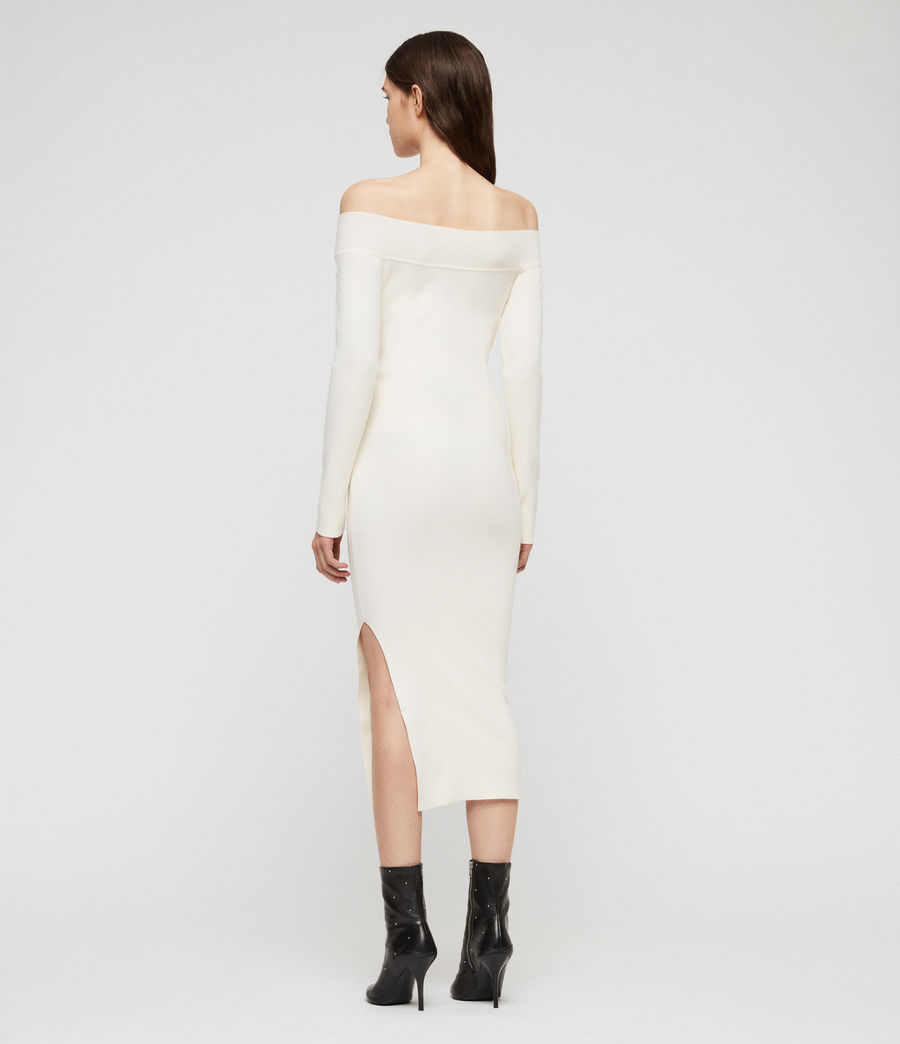 Women's Alyssa Dress (chalk_white) - Image 5