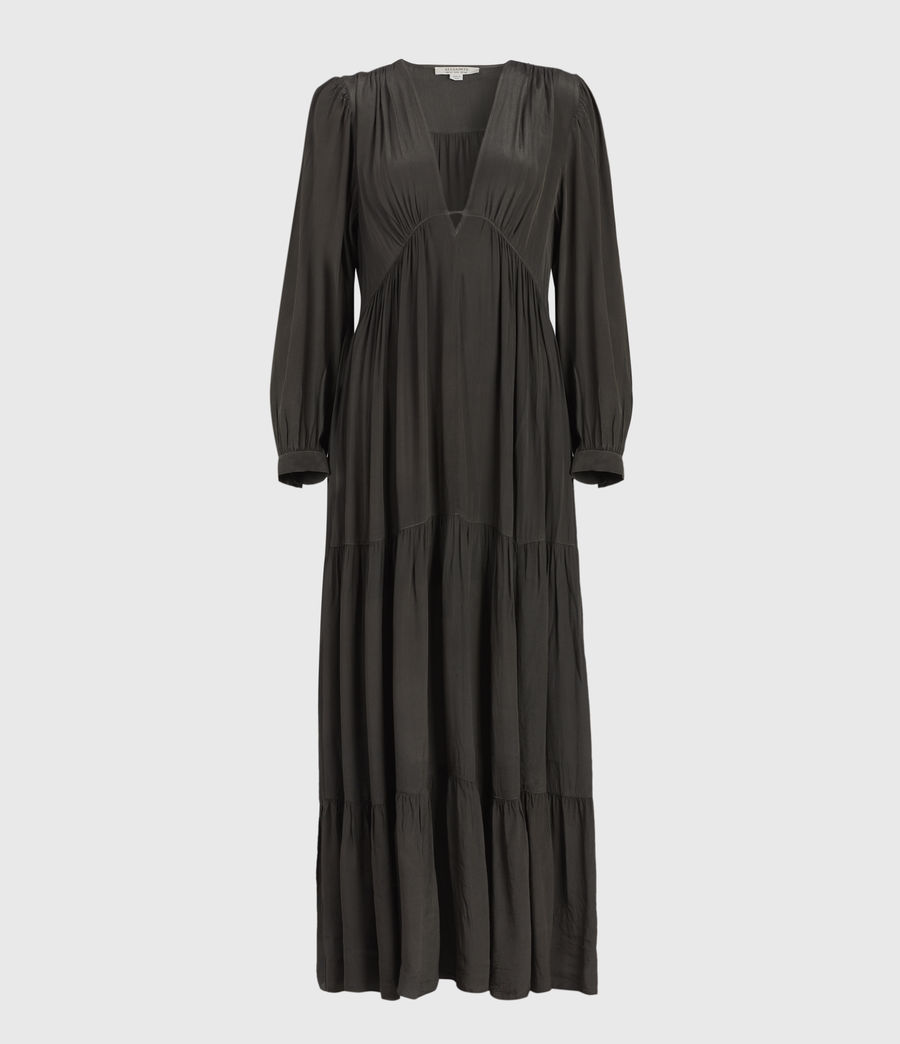 Women's Lea Maxi Dress (slate_grey) - Image 1