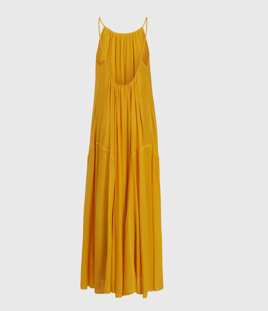 Womens Amor Dress (tiger_lily_yellow) - Image 2