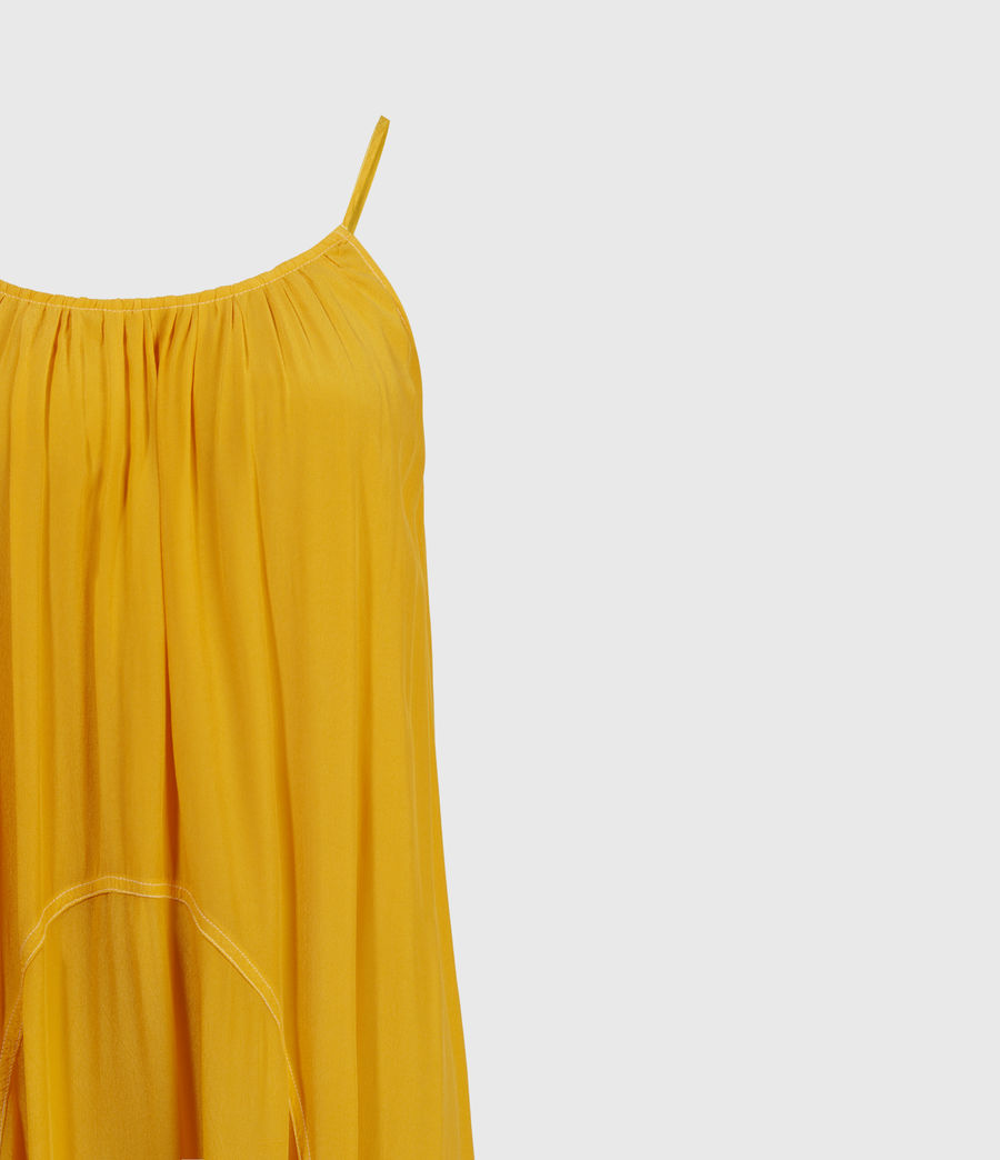 Womens Amor Dress (tiger_lily_yellow) - Image 3