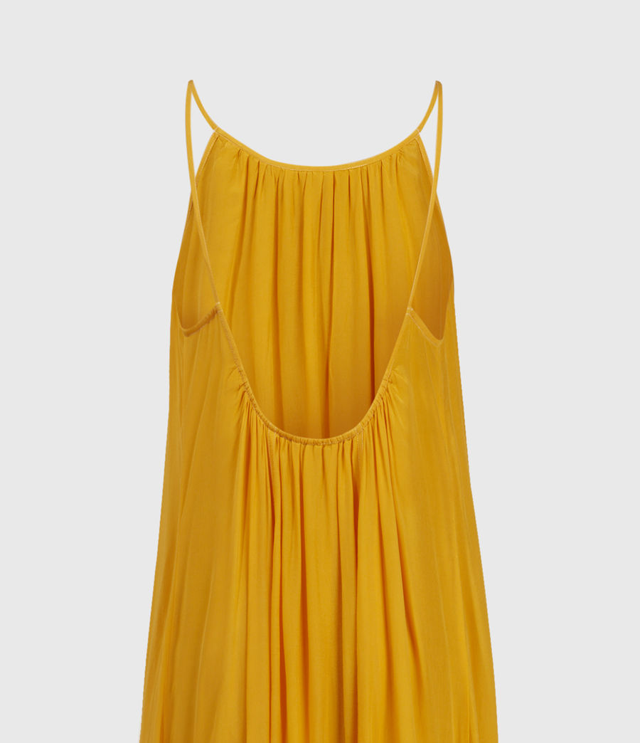 Womens Amor Dress (tiger_lily_yellow) - Image 4