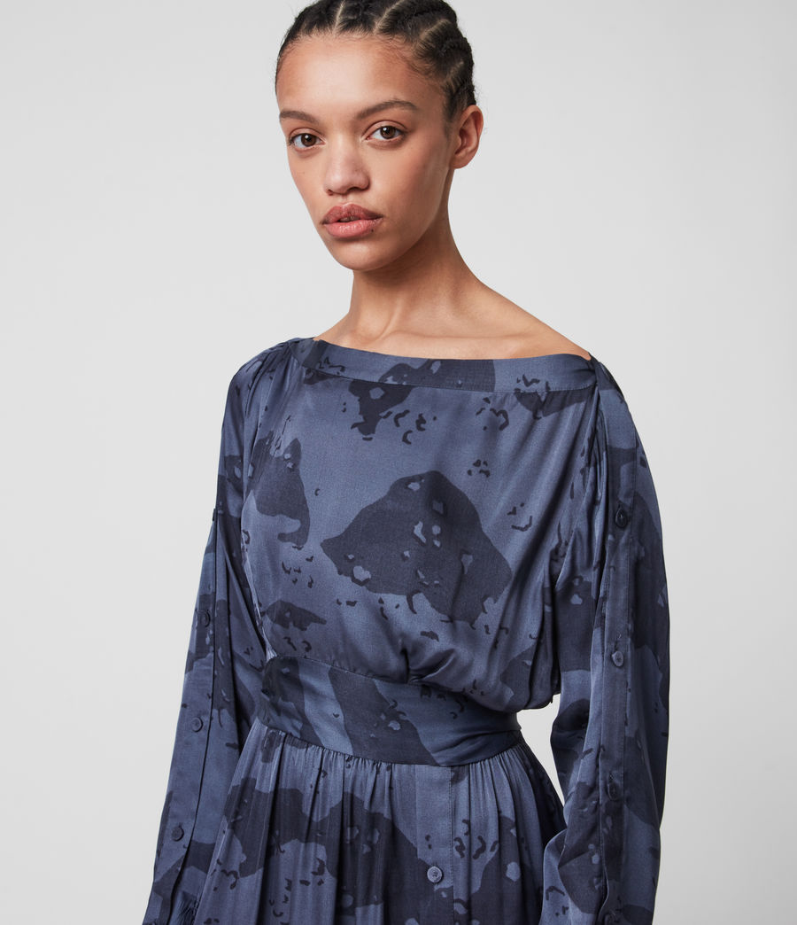 Mujer Faustin Acoustic Dress (mid_blue) - Image 2