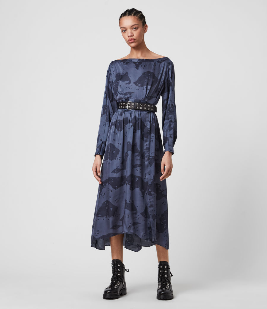 Mujer Faustin Acoustic Dress (mid_blue) - Image 4
