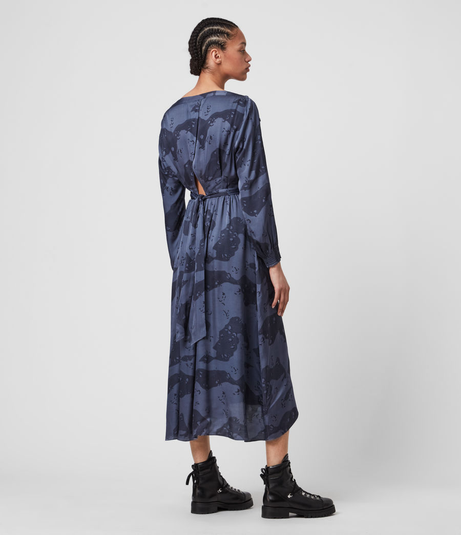 Mujer Faustin Acoustic Dress (mid_blue) - Image 5