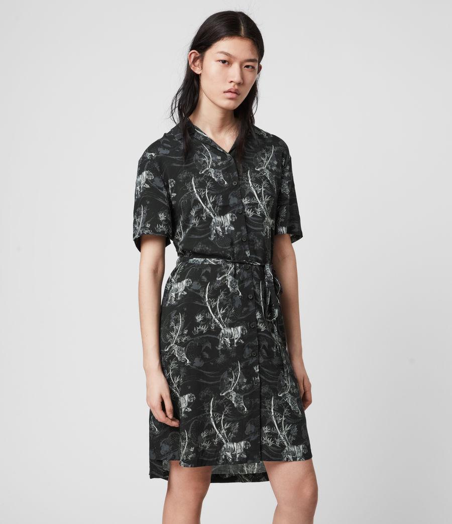 Womens Athea Strength Dress (black) - Image 4