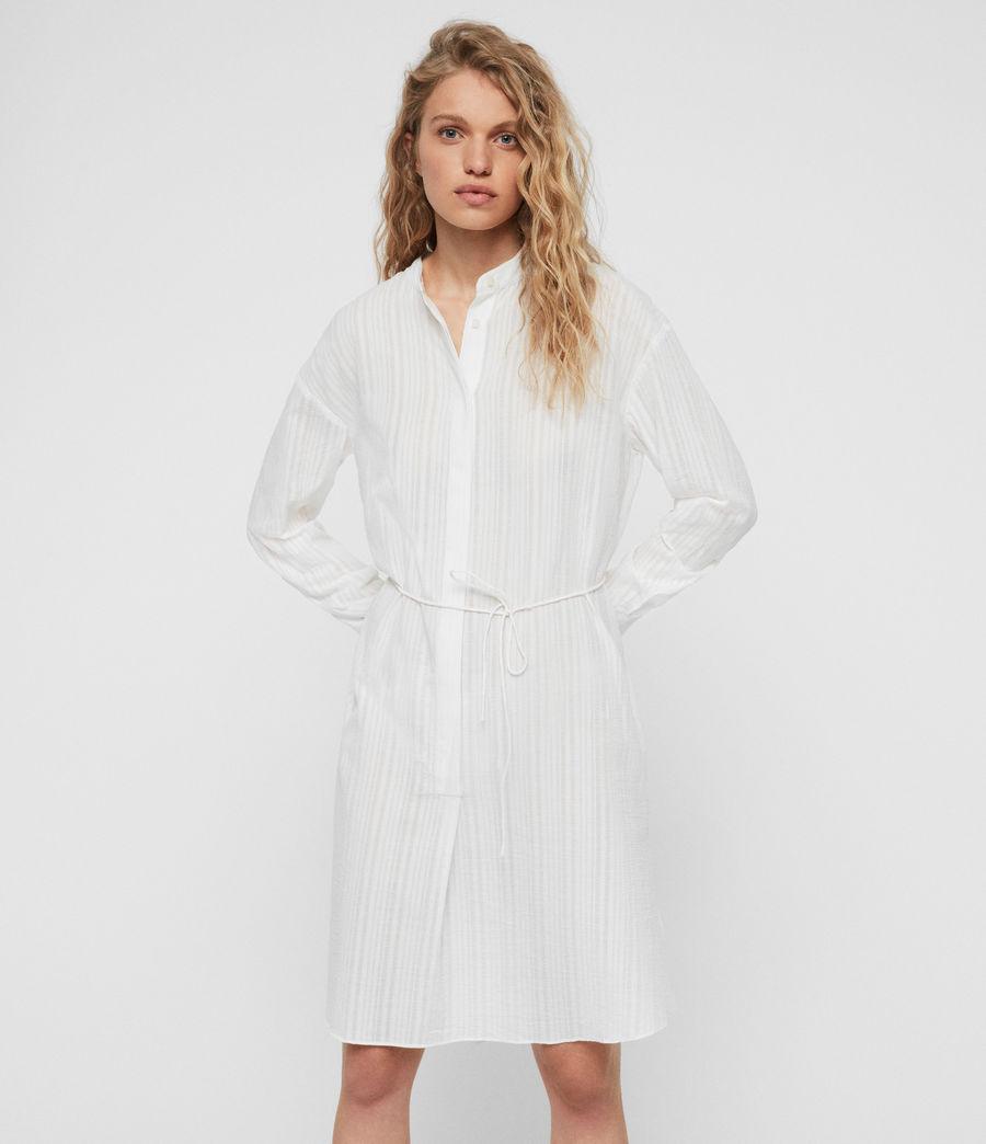 Womens Sani Shirt Dress (chalk_white) - Image 1