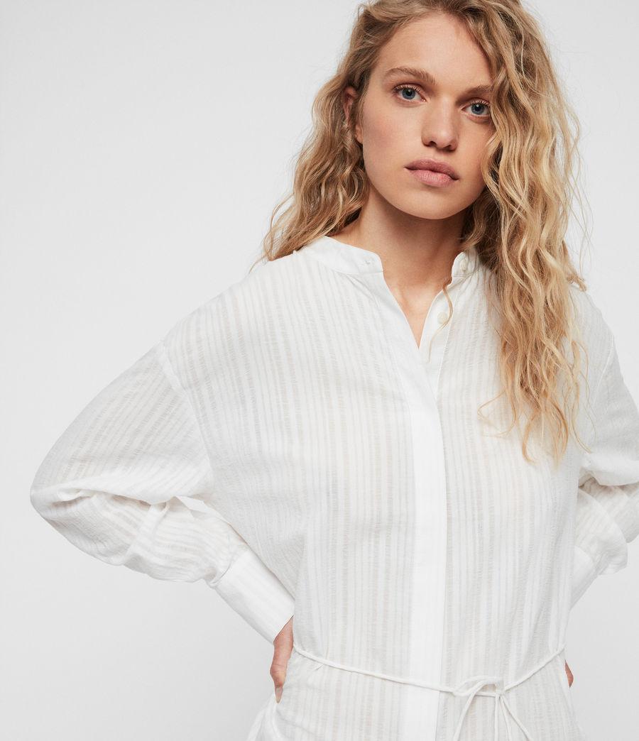 Womens Sani Shirt Dress (chalk_white) - Image 2