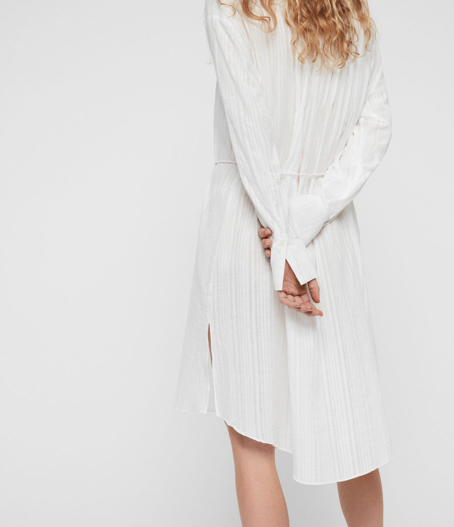 Womens Sani Shirt Dress (chalk_white) - Image 3