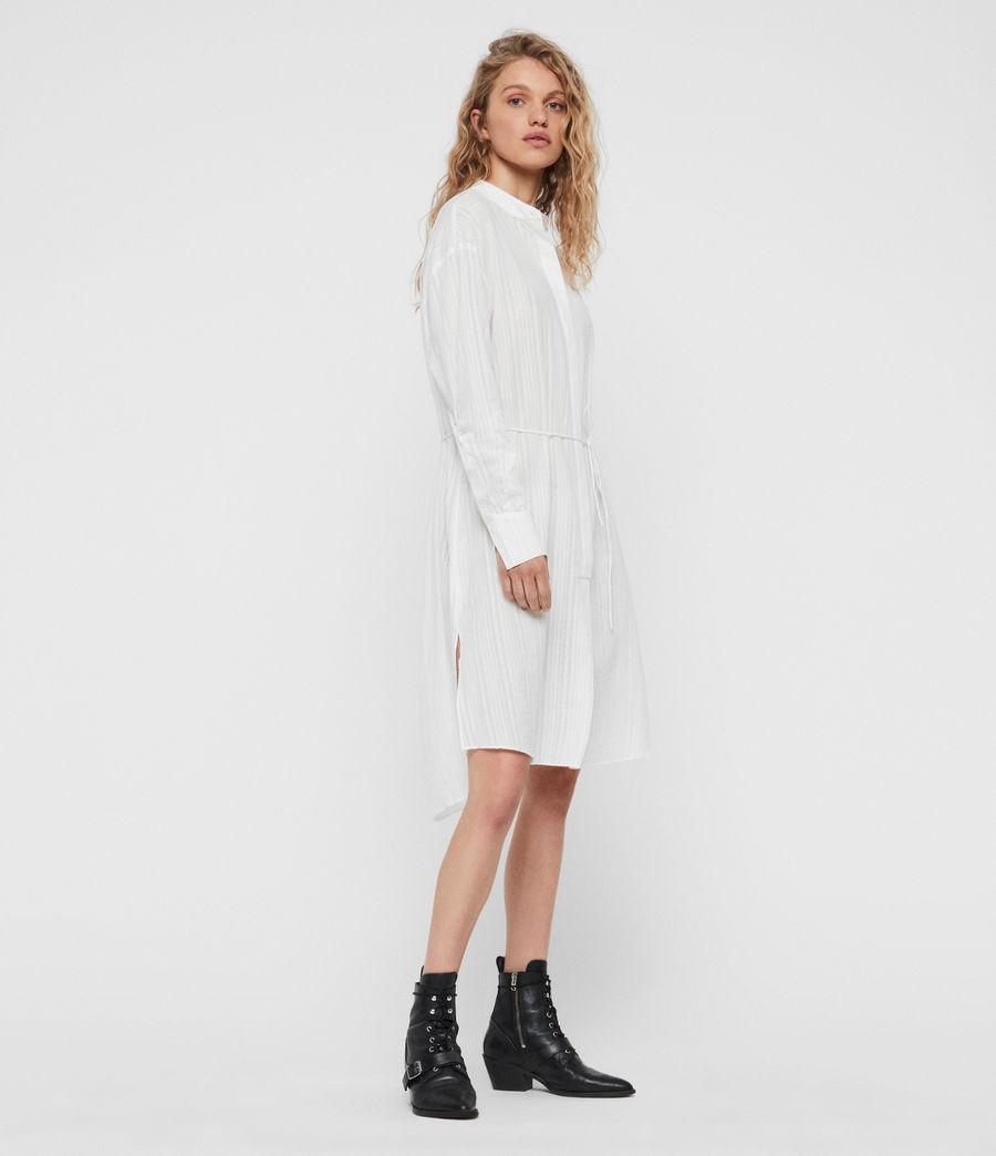 Womens Sani Shirt Dress (chalk_white) - Image 4