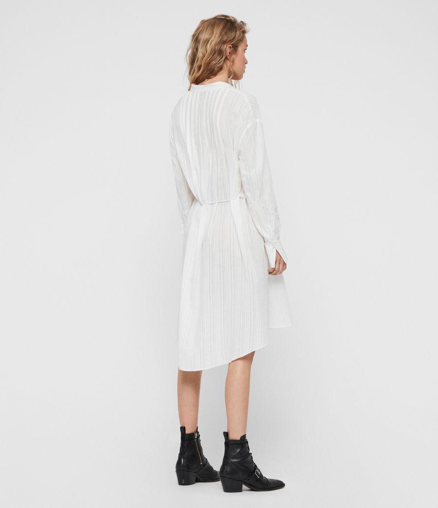 Womens Sani Shirt Dress (chalk_white) - Image 5