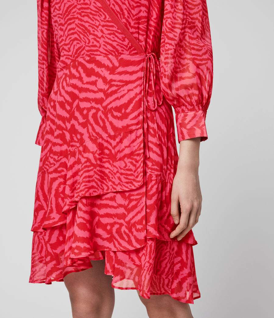 Women's Keva Remix Dress (pink) - Image 3