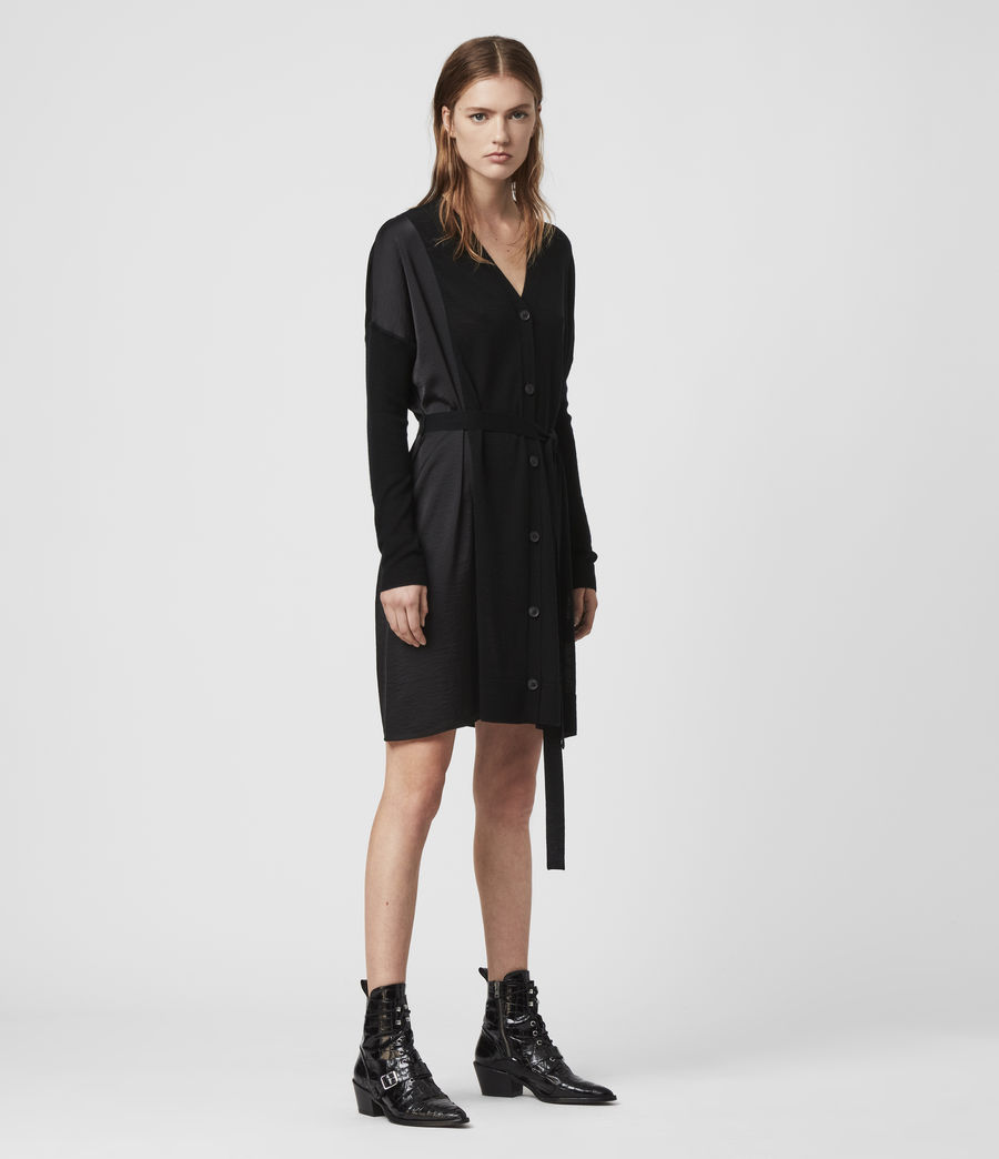 Womens Iva Dress (black) - Image 1