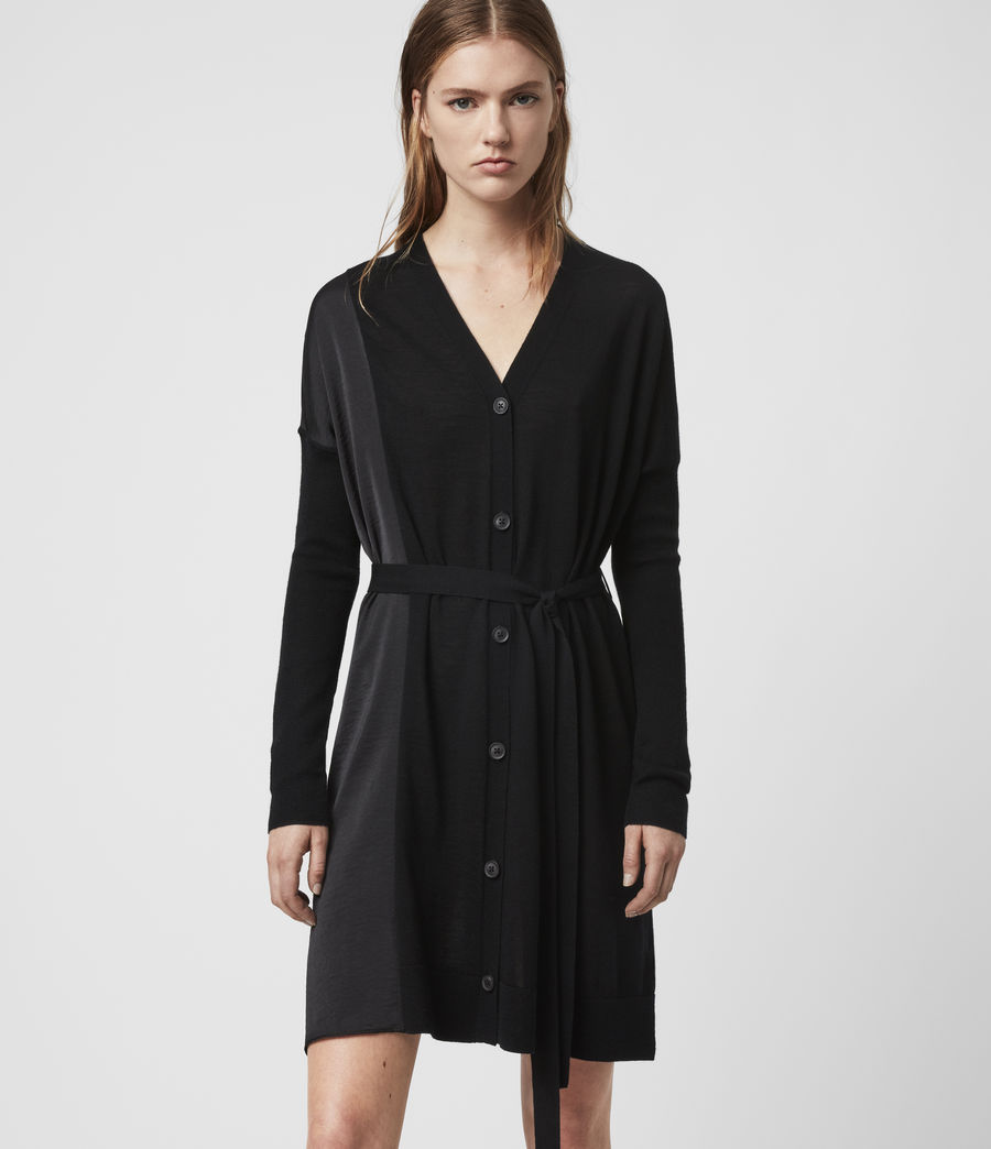Women's Iva Dress (black) - Image 3
