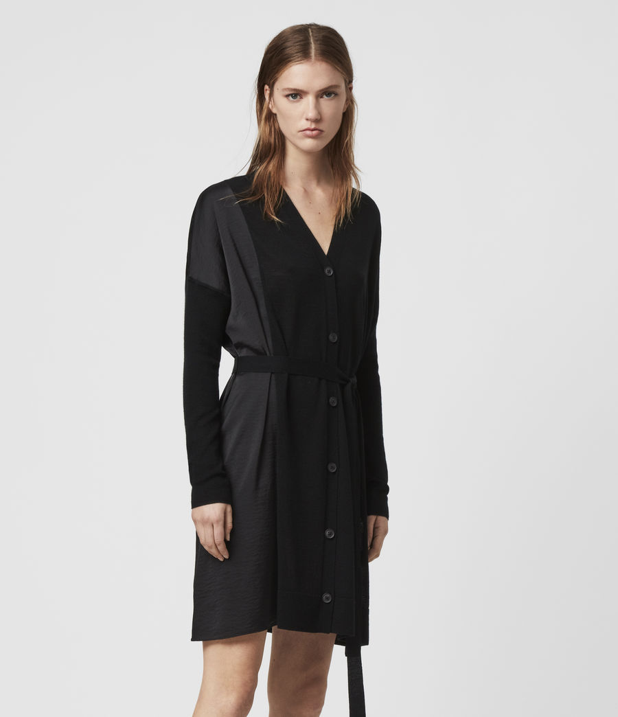 Womens Iva Dress (black) - Image 4