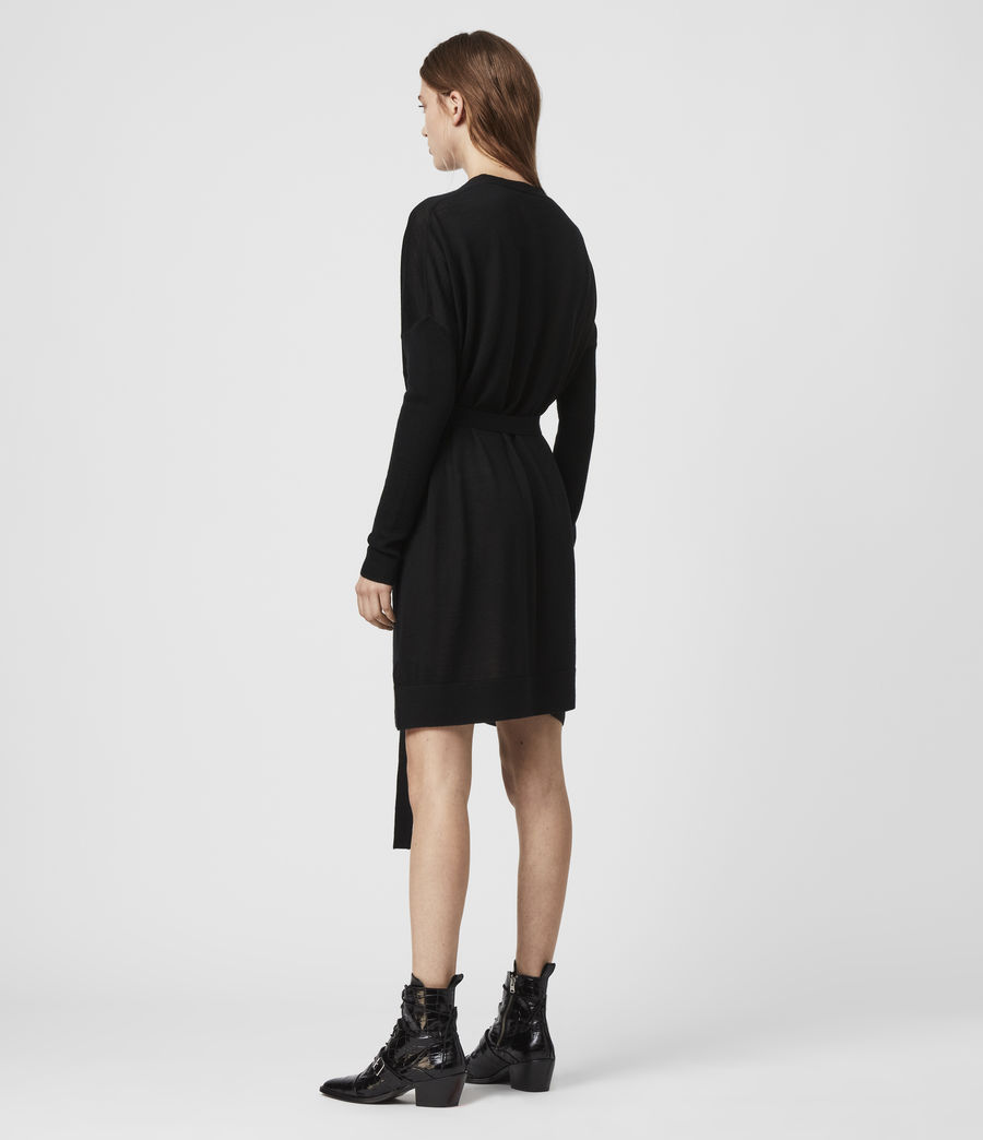 Womens Iva Dress (black) - Image 5