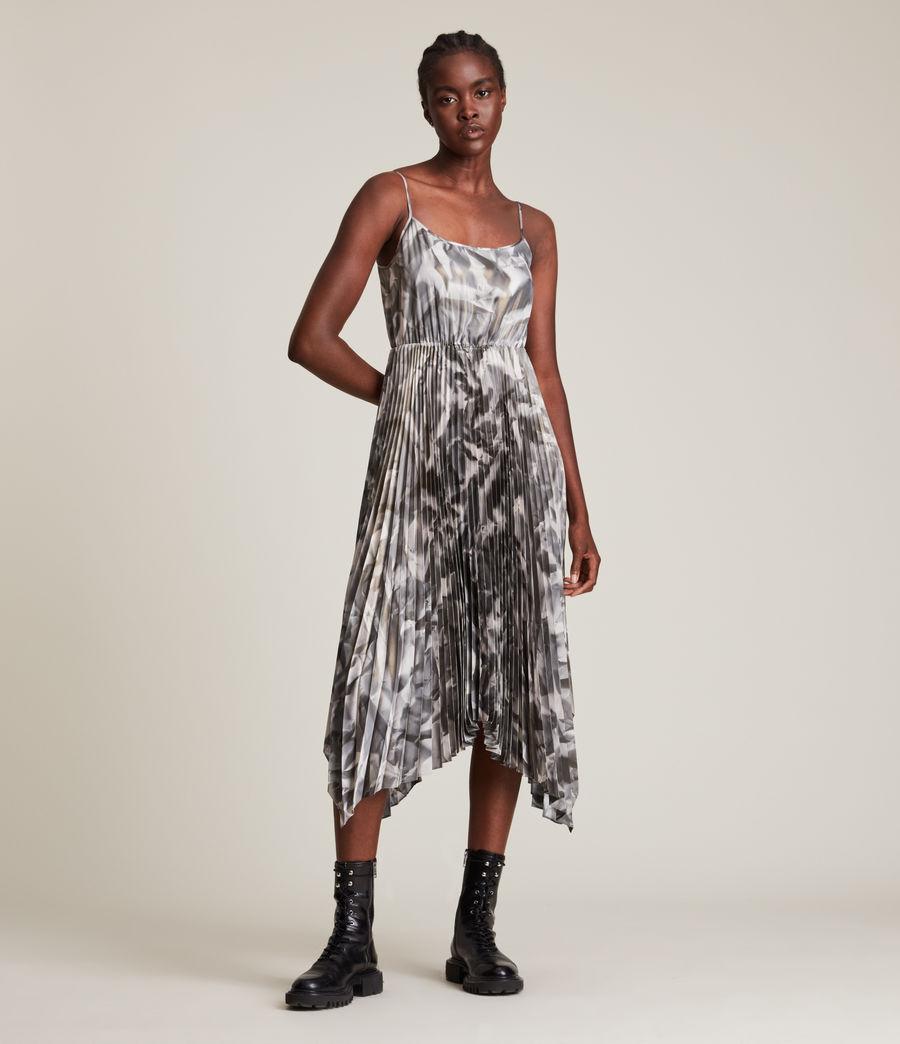 Damen Lerin Brecon 2-In-1 Dress (metallic_grey) - Image 3