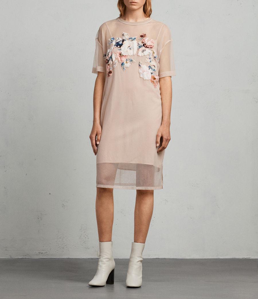 Mujer Vestido Kyla (pale_pink) - Image 1