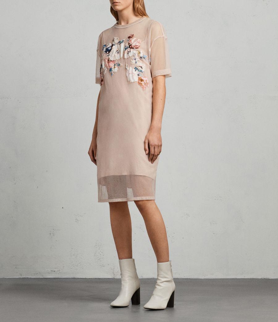 Mujer Vestido Kyla (pale_pink) - Image 3