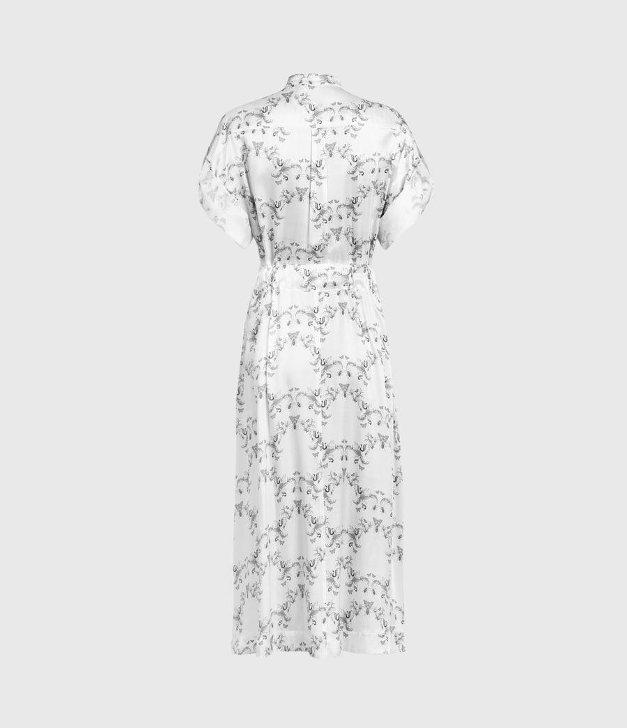Mujer Luciana Assam Dress (white) - Image 3