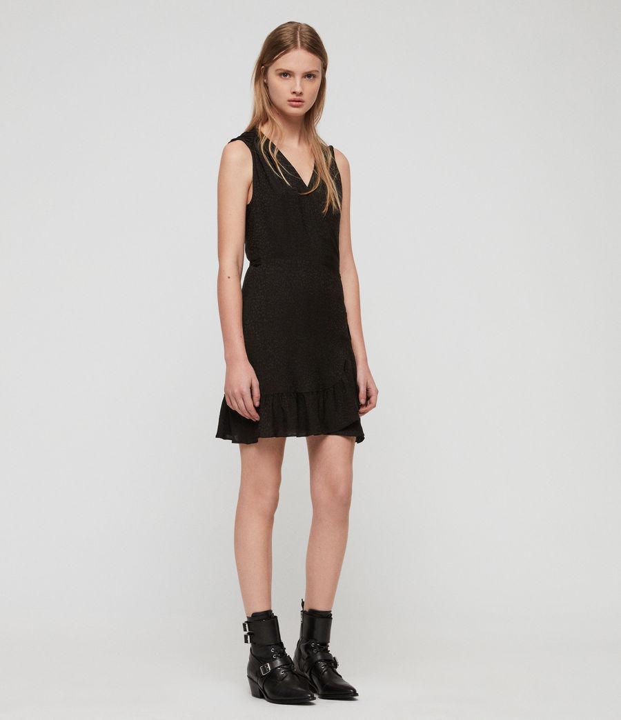 Womens Krystal Leopard Dress (black_leopard) - Image 4