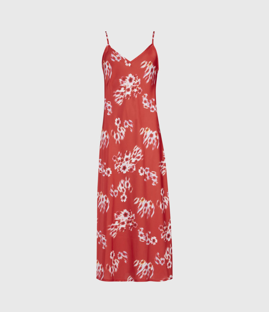 Womens Lenni 2-In-1 Jasmine Dress (red) - Image 4